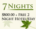 Twain Harte Weekly Special + Free 2 Night Vacation Coupon!