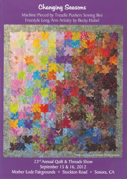 Sierra Quilt Guild Annual Quilts & Threads Show in Sonora California