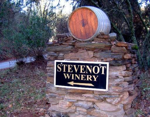 Stevenot Winery In Murphys California