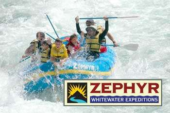 Zephyr WhiteWater Rafting Trips In Columbia